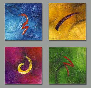 Dafen Oil Painting on canvas abstract -set150